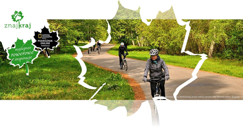 Szlak rowerowy Muru Berlińskiego przez tereny zielone