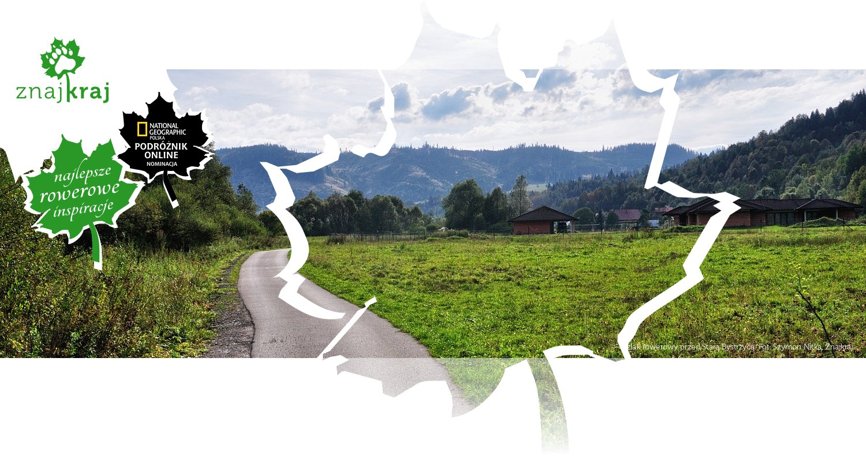 Szlak rowerowy przed Starą Bystrzycą
