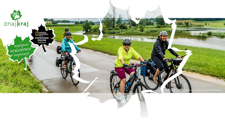 Szlak rowerowy przy terenie zalewowym