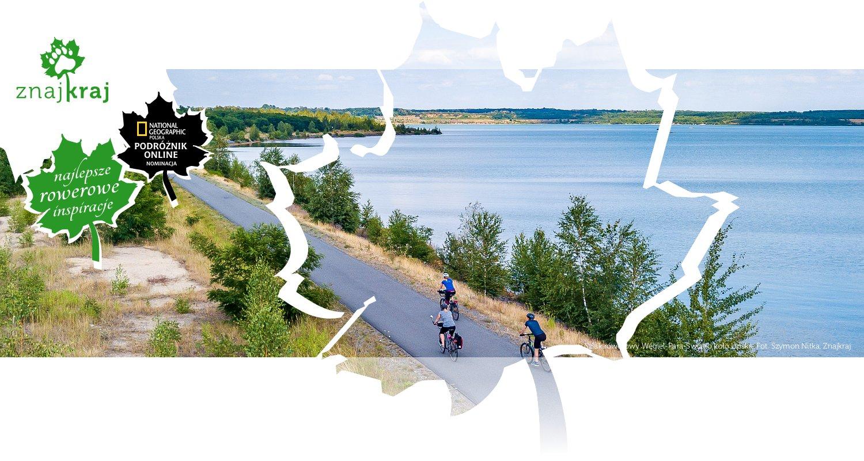 Szlak rowerowy Węgiel-Para-Światło koło Lipska