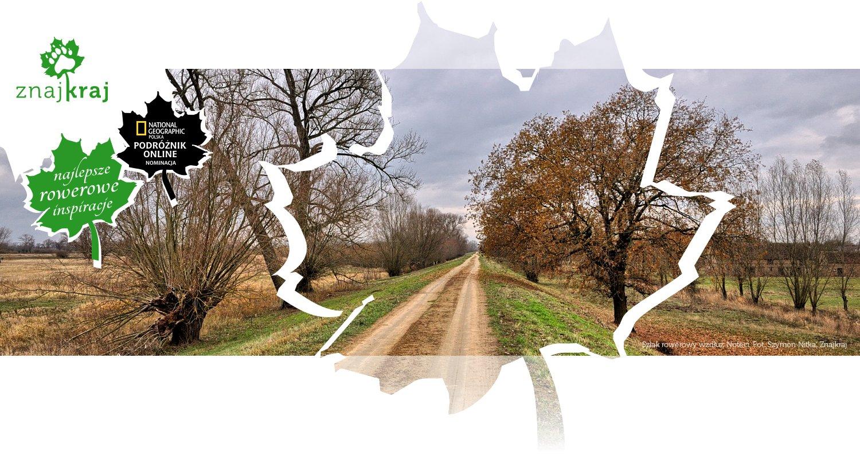 Szlak rowerowy wzdłuż Noteci