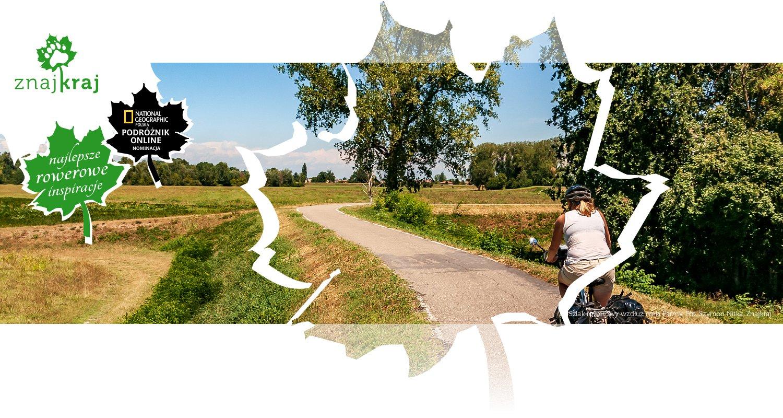 Szlak rowerowy wzdłuż rzeki Parmy