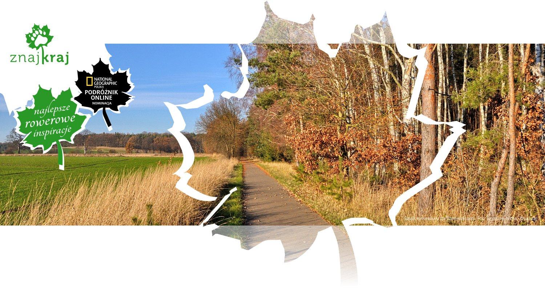 Szlak rowerowy za Baniewicami