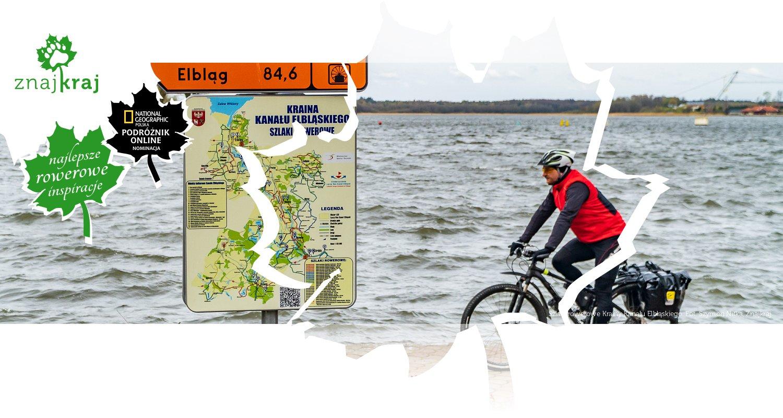 Szlaki rowerowe Krainy Kanału Elbląskiego