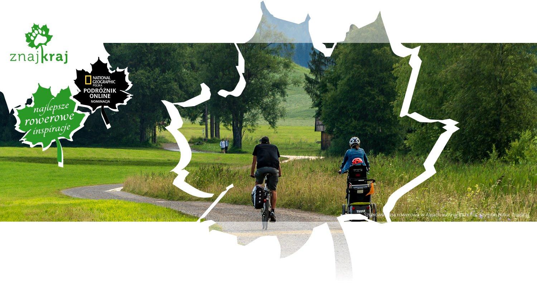 Szutrowa trasa rowerowa w Alpach austriackich