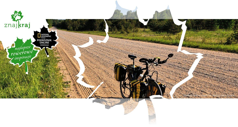 Szutrowa trasa w Łatgalii