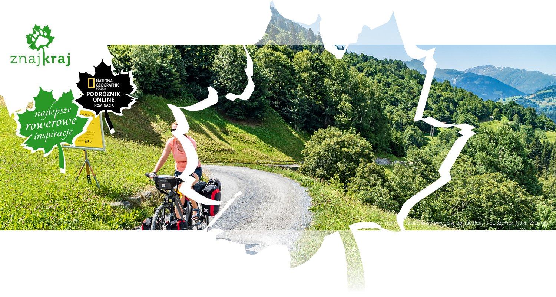 Szutrowy fragment szlaku rowerowego w dolinie Renu