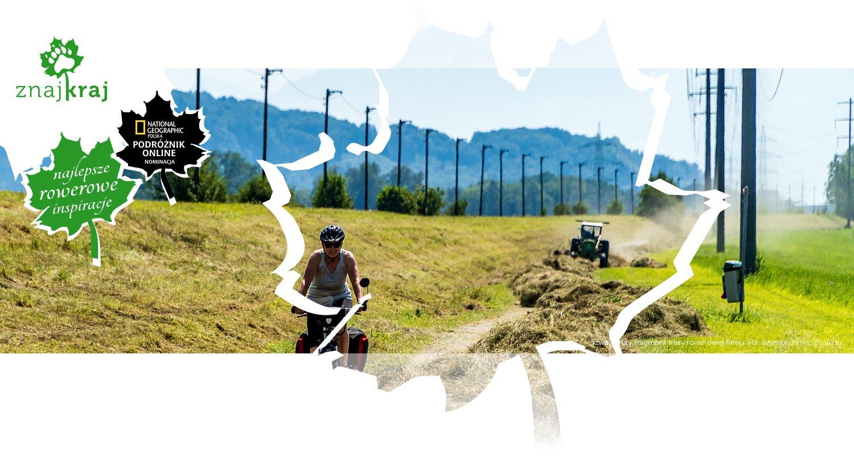 Szwajcaria - fragment trasy rowerowej Renu