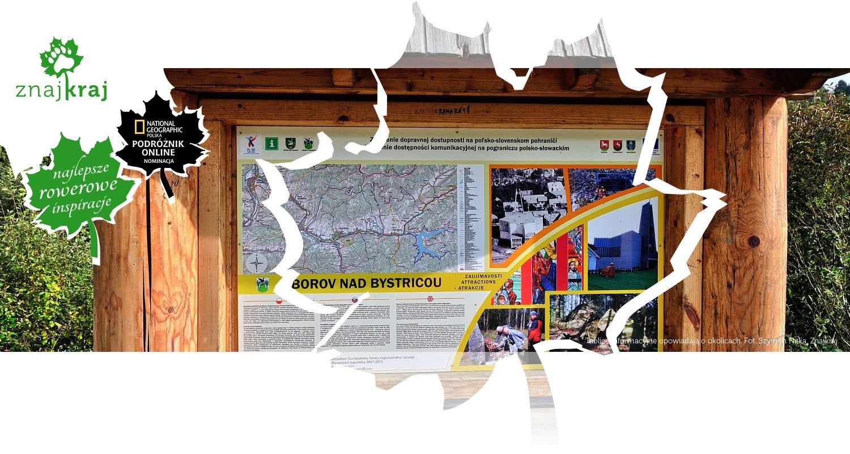 Tablice informacyjne opowiadają o okolicach