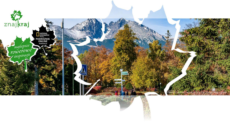 Tatrzańska Łomnica - widok na Tatry