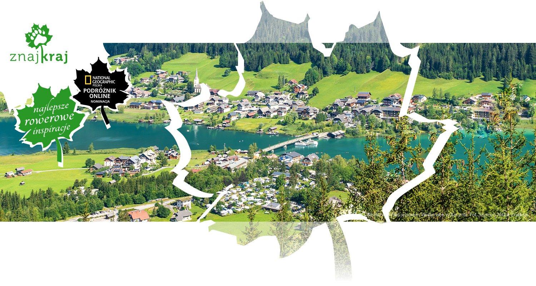 Techendorf i Weißensee nad jeziorem Weißensee w Karyntii