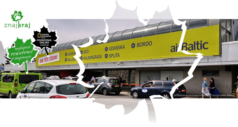 Terminal portu lotniczego w Rydze