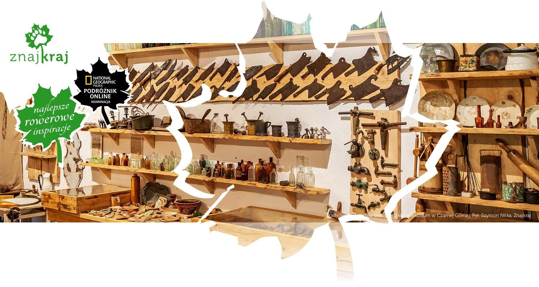 Tradycyjne narzędzia bieszczadzkie w muzeum w Czarnej Górnej