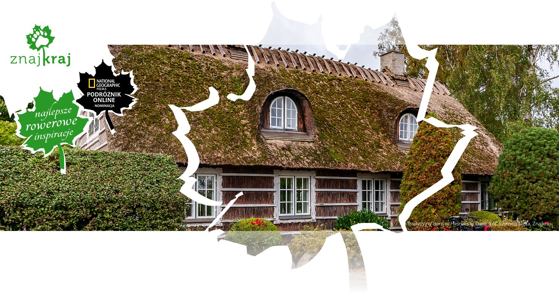 Tradycyjny dom w Hesnæs w Danii