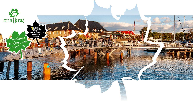 Trangravsbroen w Kopenhadze - most łączący trzy brzegi