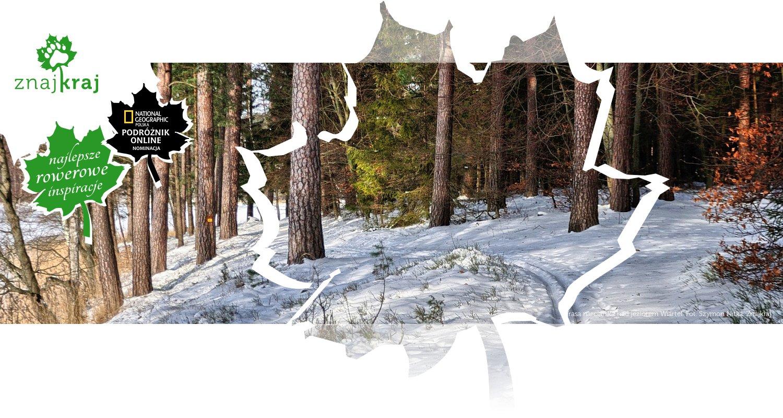 Trasa narciarska nad jeziorem Wiartel