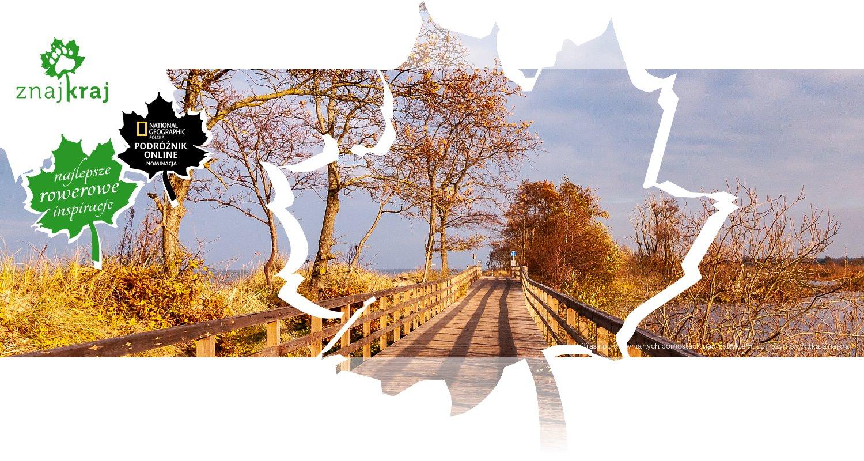 Trasa po drewnianych pomostach nad Bałtykiem
