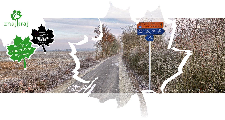 Trasa Pojezierzy Zachodnich o poranku