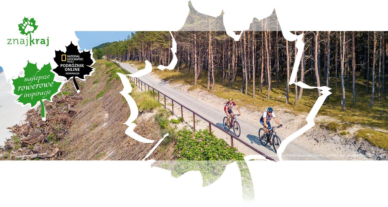 Trasa rowerowa na Mierzei Wiślanej nad Zatoką Gdańską