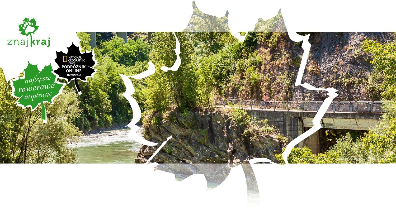 Trasa rowerowa nad rzeką Isarco-Eisack