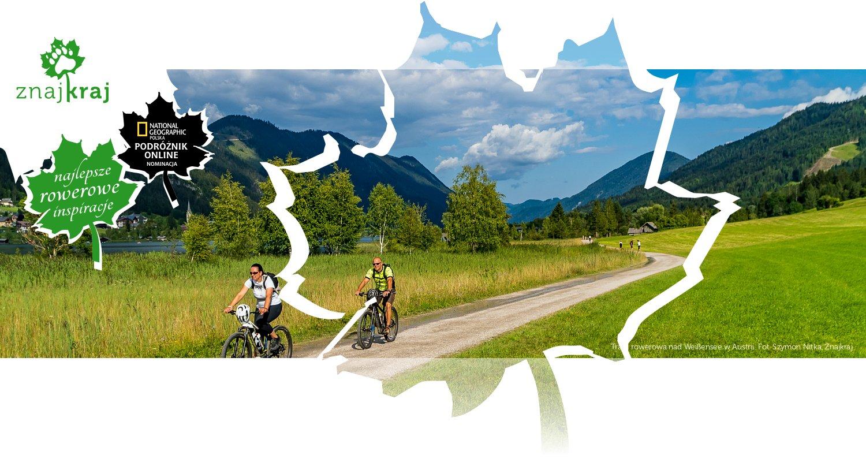 Trasa rowerowa nad Weißensee w Austrii