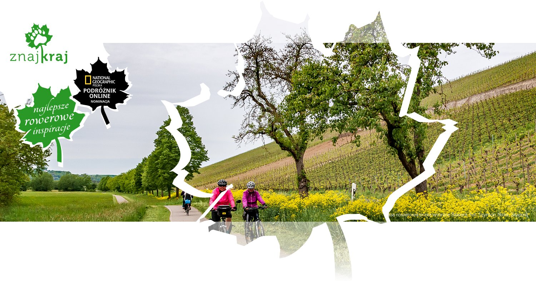 Trasa rowerowa przez winnice Bawarii