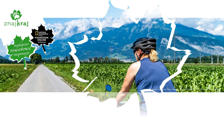 Trasa rowerowa Renu między Chur a Bad Ragaz