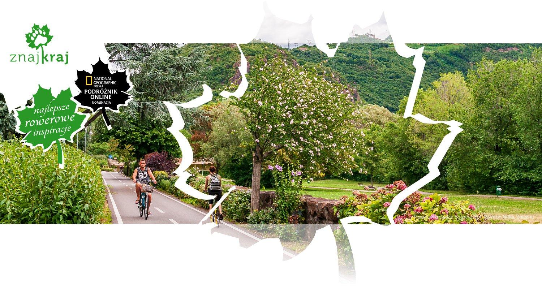 Trasa rowerowa w Bolzano