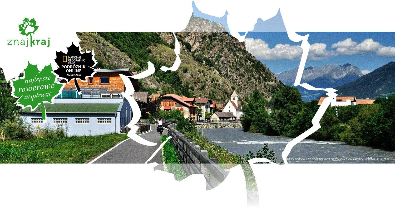 Trasa rowerowa w dolinie górnej Adygi