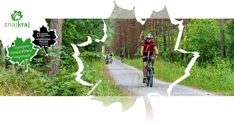 Trasa rowerowa w okolicach Stegny