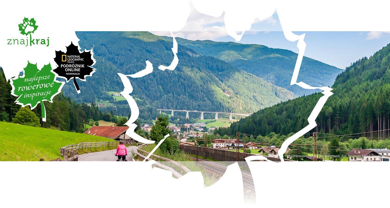Trasa rowerowa w Południowym Tyrolu we Włoszech