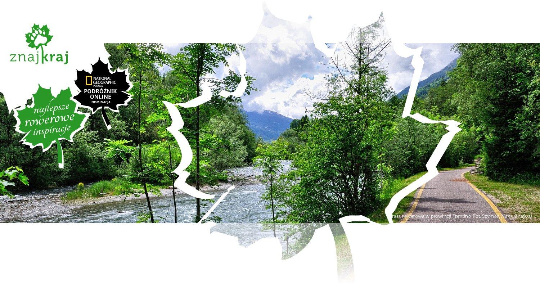 Trasa rowerowa w prowincji Trentino