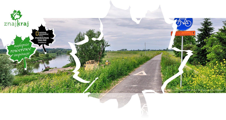 Trasa rowerowa wzdłuż Wisły we wschodniej Małopolsce