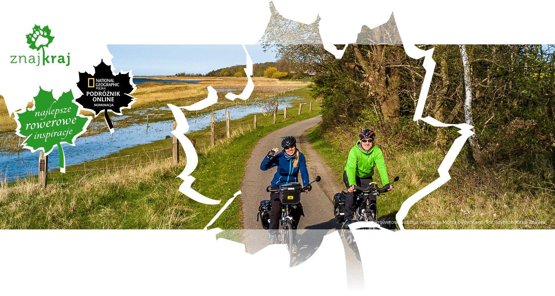 Trasa rowerowa wzdłuż wybrzeża Morza Bałtyckiego