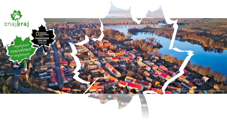 Trzcińsko-Zdrój z lotu ptaka