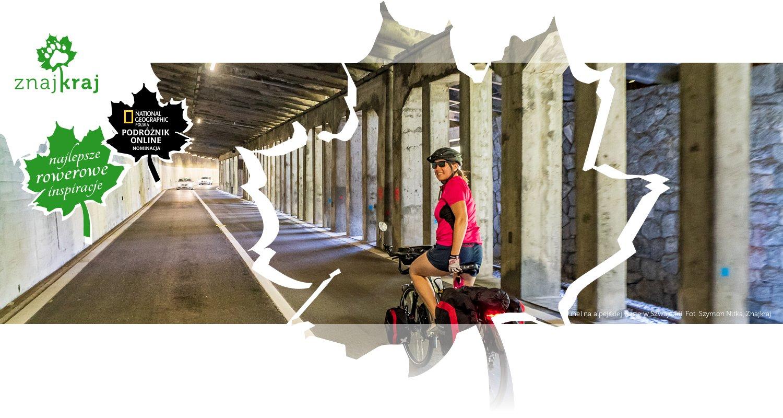 Tunel na alpejskiej trasie w Szwajcarii