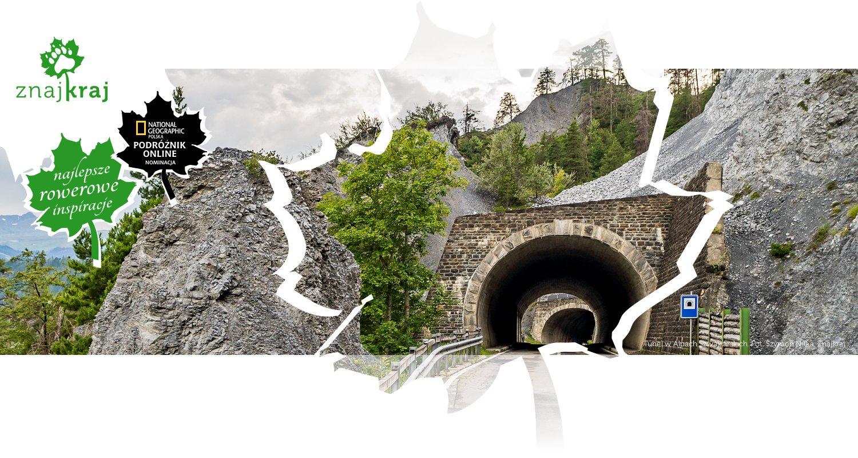Tunel w Alpach Szwajcarskich