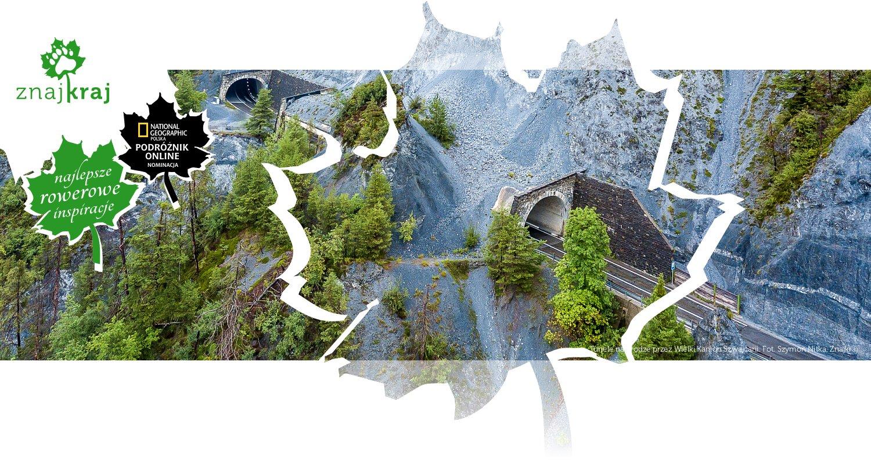 Tunele na drodze przez Wielki Kanion Szwajcarii