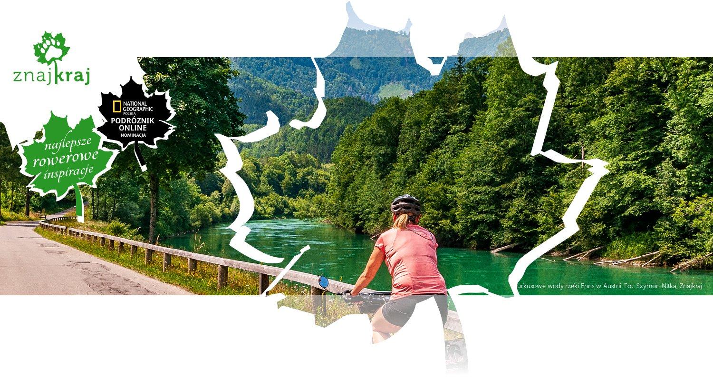 Turkusowe wody rzeki Enns w Austrii