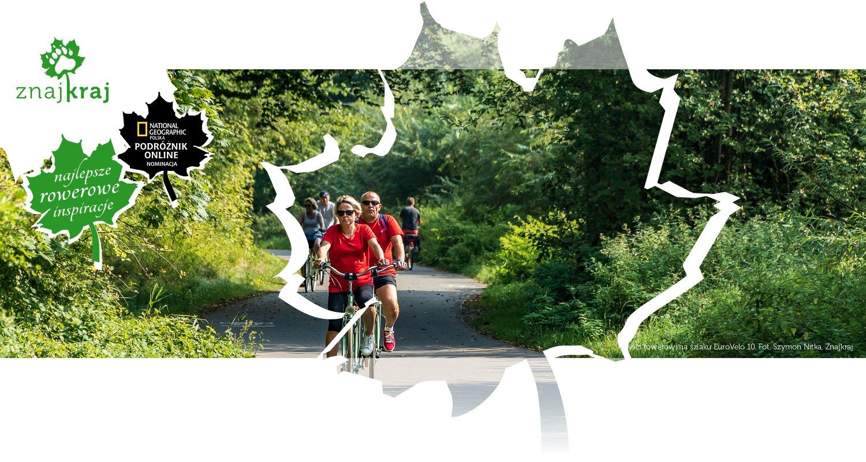 Turyści rowerowi na szlaku EuroVelo 10