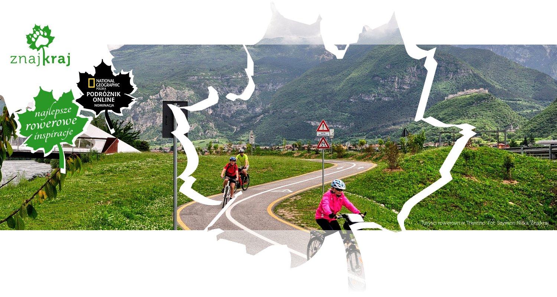 Turyści rowerowi w Trentino