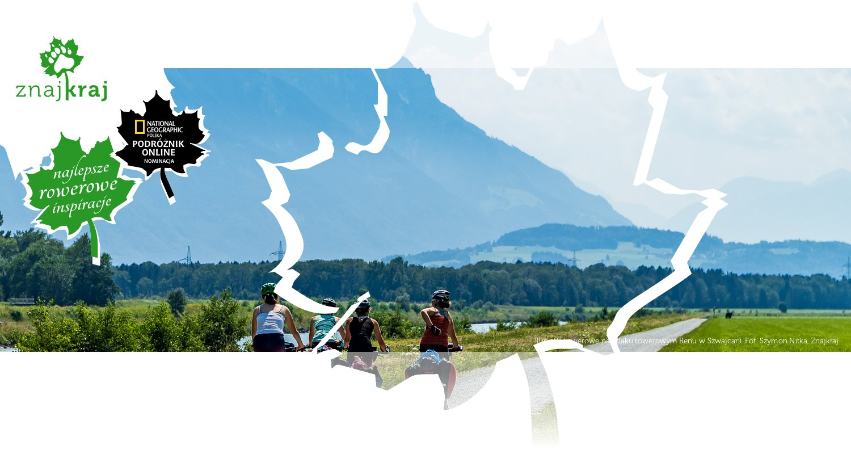 Turystki rowerowe na szlaku rowerowym Renu w Szwajcarii