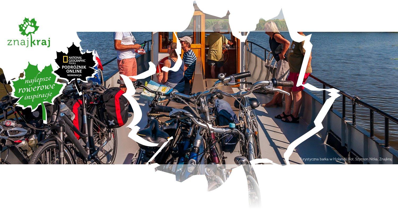 Turystyczna barka w Holandii