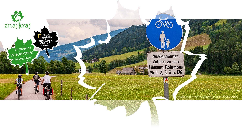 Turystyczna droga rowerowa w Austrii