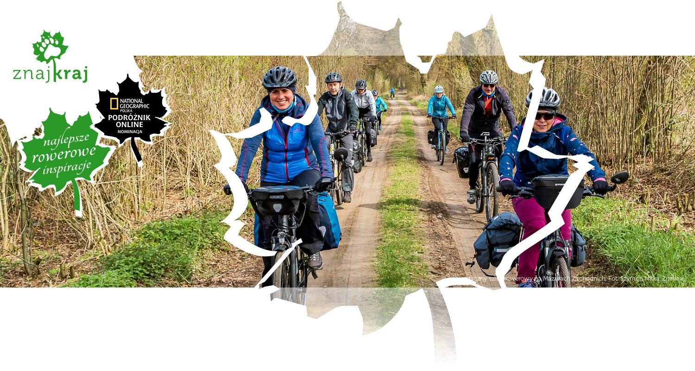 Turystyczny szlak rowerowy na Mazurach Zachodnich