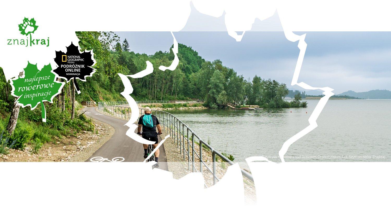 Turystyka rowerowa nad Jeziorem Czorsztyńskim