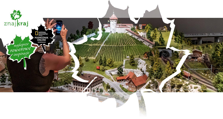 Twierdza Munot wśród miniatur Szwajcarii w Neuhausen