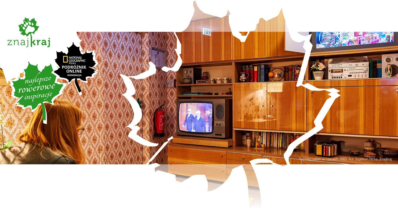 Typowy salon w czasach NRD