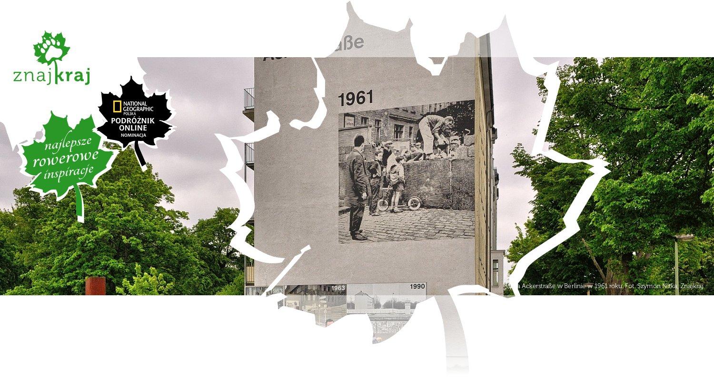 Ulica Ackerstraße w Berlinie w 1961 roku