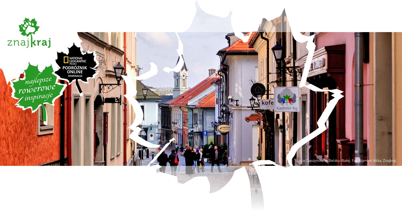 Ulica Cieszyńska w Bielsku-Białej